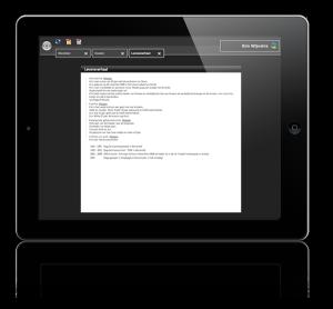 iPad-form